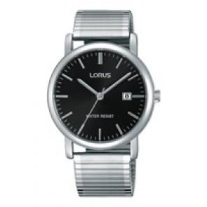 Lorus cinturino dell'orologio RG857CX9 / VJ32 X246 / RHA042X Metallo Argento 19mm