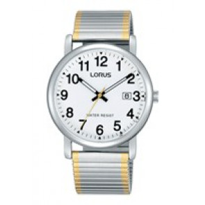Lorus cinturino dell'orologio RG861CX9 / VJ32 X246 / RHA063X Metallo Bi-colore 20mm