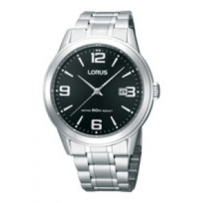 Lorus cinturino dell'orologio RH999BX9 / PC32 X029 / RP379X Metallo Argento 19mm