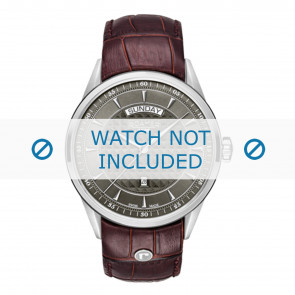 Roamer cinturino dell'orologio 508293-41-05-05 Pelle Marrone 22mm + cuciture di default