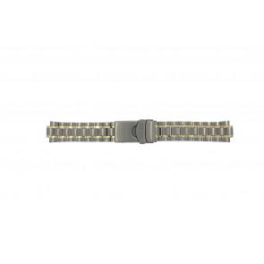 Seiko cinturino dell'orologio 5M43-0C00 / SKJ084P1 / 4450LG  Titanio Argento 20mm