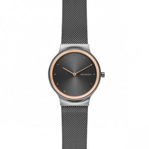 Cinturino per orologio Skagen SKW2707 Acciaio Grigio antracite 16mm
