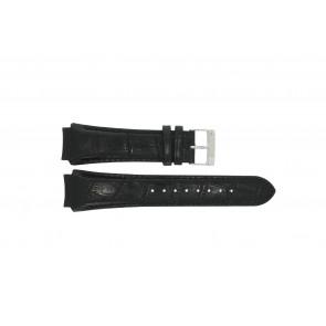 Prisma cinturino dell'orologio SPECZW21 Pelle Nero 21mm + cuciture nero