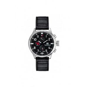 Cinturino per orologio Tommy Hilfiger TH-102-1-14-0878 Pelle Nero 20mm