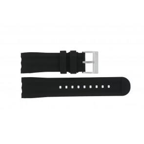 Nautica cinturino dell'orologio A17591G Gomma Nero 24mm