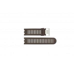 Alessi cinturino dell'orologio AL14001 Pelle Marrone 25mm