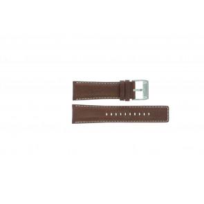 Fossil cinturino orologio AM-3891 Pelle Marrone 25mm