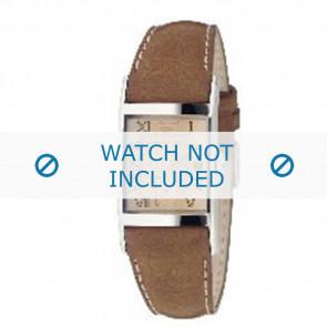 Armani cinturino dell'orologio AR0251 Pelle Marrone 22mm