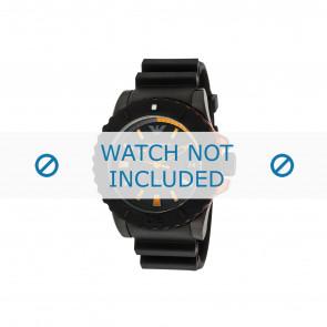 Armani cinturino dell'orologio AR5969 Gomma Nero 22mm