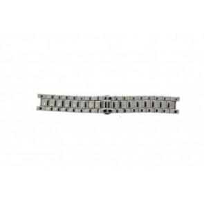 Armani cinturino orologio AR-0145 Acciaio Argento 22mm