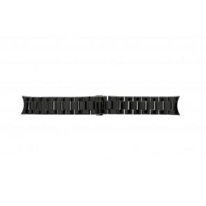 Armani cinturino orologio AR-1400 Ceramica Nero 22mm
