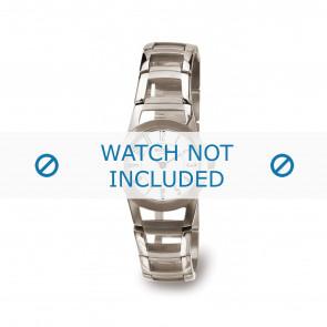 Boccia cinturino orologio 3140-01 Titanio Argento 22mm