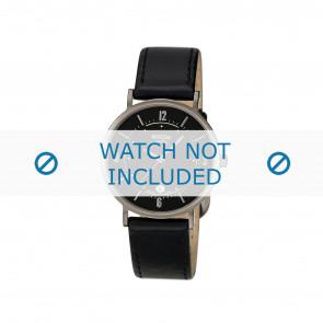 Boccia cinturino orologio 3154 Pelle Nero 16mm