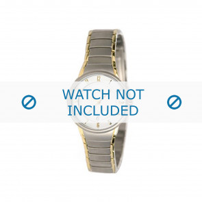 Boccia cinturino orologio 3159 Titanio Argento 16mm