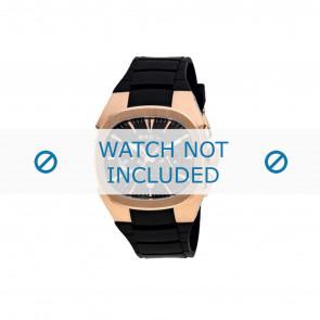 Breil cinturino dell'orologio BW0309 Gomma Nero