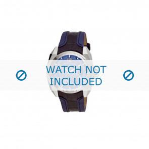Breil cinturino dell'orologio BW0322 Pelle Blu + cuciture blu
