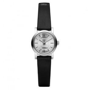 Cinturino per orologio Burberry BU1761 Pelle Nero