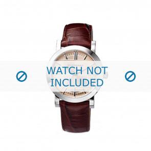 Burberry cinturino dell'orologio BU1356 Pelle Marrone 20mm