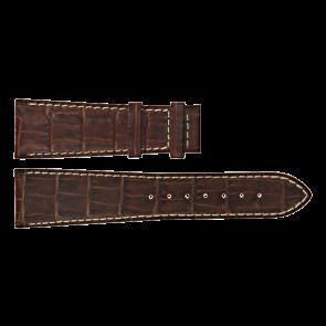 Certina cinturino dell'orologio C610011091 Pelle Marrone 23mm + cuciture bianco