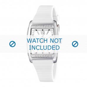 Calypso cinturino dell'orologio K6054-1 Gomma / plastica Bianco