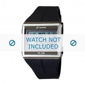 Calypso cinturino dell'orologio K6059-1 / K6059-2 / K6059-3 / K6059-4  Gomma / plastica Nero