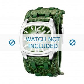 Calypso cinturino dell'orologio K5224/4 Pelle Verde 26mm
