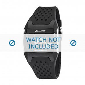 Calypso cinturino dell'orologio K5563 Gomma / plastica Nero