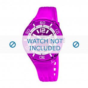 Calypso cinturino dell'orologio K5588/6  Gomma / plastica Viola