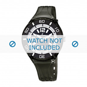 Calypso cinturino dell'orologio K5588/8  Gomma / plastica Nero