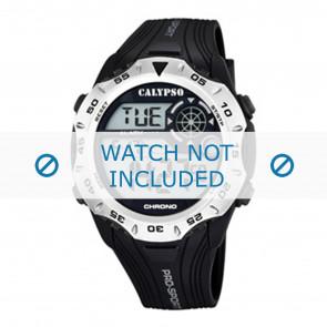 Calypso cinturino dell'orologio K5665-1 / K5665-2 / K5665-3 / K5665-4 / K5665-5 / K5665-6 Gomma / plastica Nero