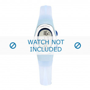 Calypso cinturino dell'orologio K6018-6 Gomma Blu chiaro