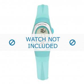Calypso cinturino dell'orologio K6018-7 Gomma Turchese