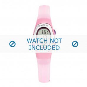 Calypso cinturino dell'orologio K6018-8 Gomma Rosa