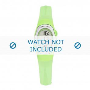 Calypso cinturino dell'orologio K6018-9 Gomma Verde