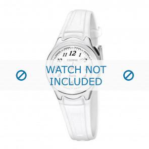 Calypso cinturino dell'orologio K6067-1 Gomma Bianco 7mm