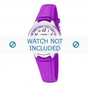 Calypso cinturino dell'orologio k6067-2 Gomma Viola 7mm