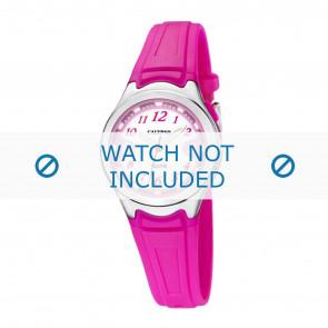 Calypso cinturino dell'orologio k6067-3 Gomma Rosa 7mm