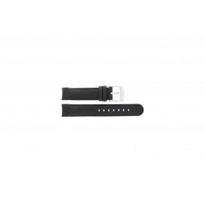 Camel cinturino orologio 4040-4059 Carbonio Nero 18mm + cuciture nero
