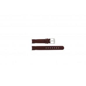 Camel cinturino dell'orologio 4000-4009 Pelle Rosso 14mm