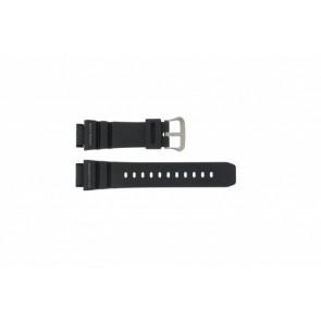 Casio cinturino orologio G-9100-1 Gomma Nero 21mm