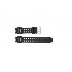 Casio cinturino orologio G9200-1 Gomma Nero 16mm