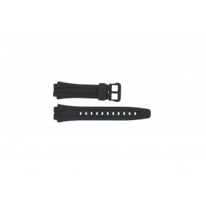 Casio cinturino orologio AQ-160W-1BV Silicone Nero 17mm