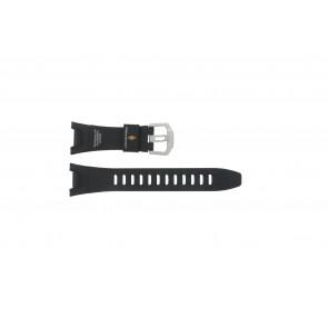 Casio cinturino orologio PRW-1300-1VJ Gomma Nero 26mm