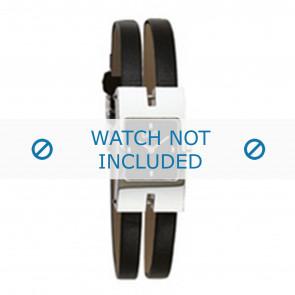 Dolce & Gabbana cinturino dell'orologio 3719250559 Pelle Nero 6mm