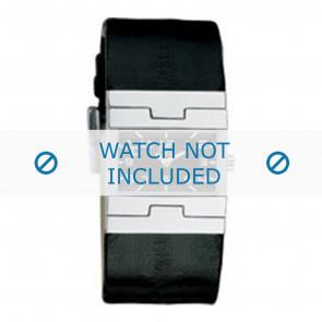 Dolce & Gabbana cinturino dell'orologio 3719251529 / F360002056 Pelle Nero