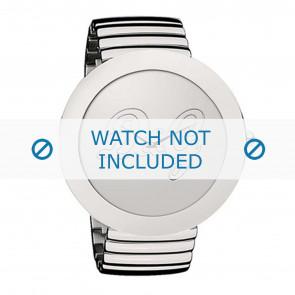Dolce & Gabbana cinturino dell'orologio DW0280 Metallo Argento