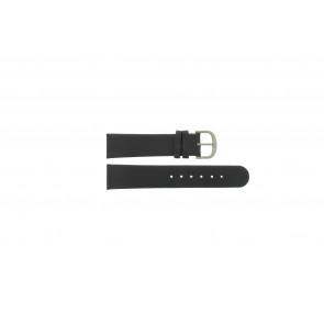 Danish Design cinturino dell'orologio IQ13Q672 / IQ12Q993 / DDBL20 Pelle Nero 20mm