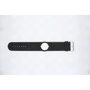 Jacques Lemans cinturino dell'orologio DC500 Pelle Nero