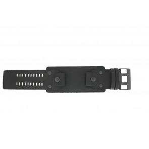 Diesel cinturino dell'orologio DZ4272 Pelle Nero 26mm