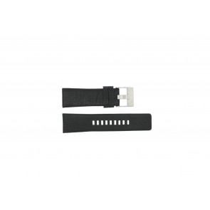 Diesel cinturino dell'orologio DZ1207 Pelle Nero 26mm